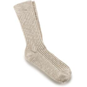 Birkenstock Cotton Slub Socks Herre beige white